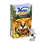 Venz Jungle tiger flakes milk chocolate vanilla 200g