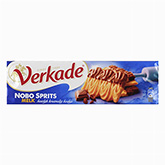 Verkade NoboSprits shortbread biscuits covered in milk chocolate 200g