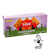 Liga Evergreen rustic biscuits forest fruits 250g