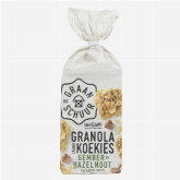 De Graanschuur Granola soft ginger and hazelnut biscuits 180g