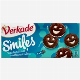 Verkade Smileys cocoa biscuit with vanilla flavoured filling 190g