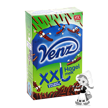 Venz XXL milk chocolate sprinkles 380g
