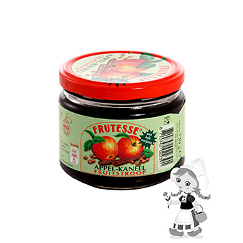Frutesse Apple cinnamon fruit syrup 330g