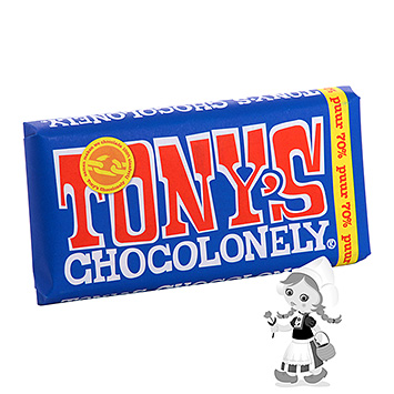 Tony's Chocolonely Dark 70% 180g