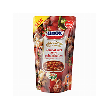 Unox Special Tomato with extra Meatballs 570ml