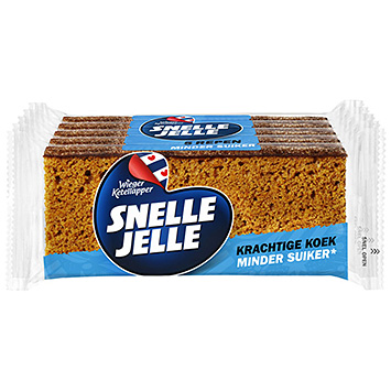 Snelle Jelle Gingerbread less sugar 250g