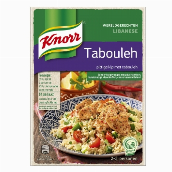 Knorr Worldwide Dishes Lebanese tabouleh